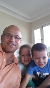 Me and my children - carriers of my genes. A taste of immortality for me.